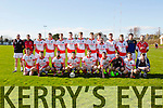 St Pat's Blennerville at the Credit Union Senior Football League Div. 3 Round 1 match St. Pat's Vs Na Gaeil at Blennerville GAA Ground on Sunday
