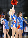 The UTA Mavericks dance team members performed in the game between the UTA Mavericks and the Hardin-Simmons Cowboys held at the University of Texas in Arlington's Texas Hall in Arlington, Texas. UTA defeats Hardin-Simmons 88 to 71.