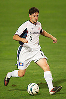 jay Heaps of the Revolution. The New England Revolution were defeated by the NY/NJ MetroStars 2-1 during quarterfinals action of the Lamar Hunt U.S. Open Cup on 8/27/03 at Yurcak Field, Rutgers University, Piscataway, NJ..