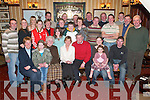 SPECIAL OCCASION: Friends and family of Kay and John Dowling, Castlemaine (seated centre), who gathered in Murphys Bar, Boolteens, to celebrate their 30th wedding anniversary last Saturday night.