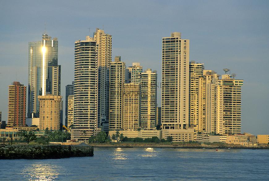 Panama City skyline. Panama. © Michael Brands. 970-379-1885.
