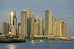 Panama City skyline. Panama. © Michael Brands. 970-379-1885.