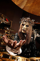Joey Jordison Slipknot Drum Kit Session