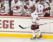 Ron Greco (BC - 28) - The Boston College Eagles defeated the visiting Providence College Friars 3-1 on Friday, October 28, 2016, at Kelley Rink in Conte Forum in Chestnut Hill, Massachusetts.The Boston College Eagles defeated the visiting Providence College Friars 3-1 on Friday, October 28, 2016, at Kelley Rink in Conte Forum in Chestnut Hill, Massachusetts.