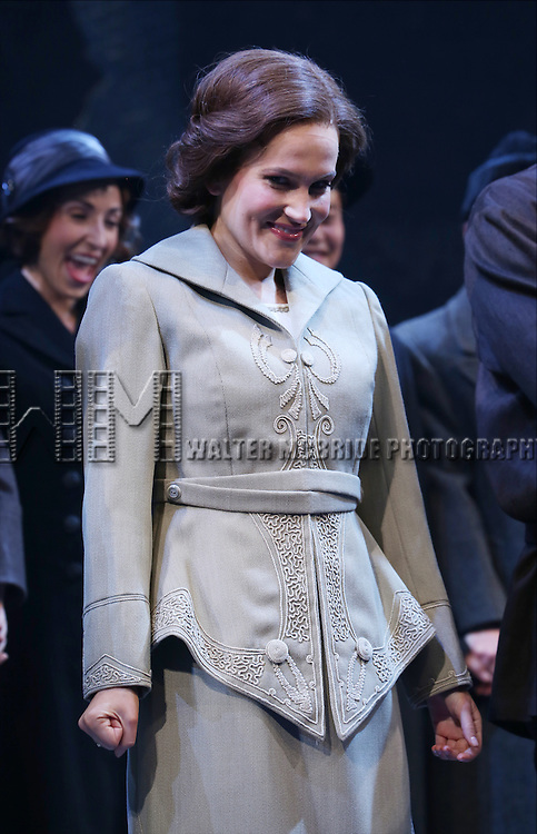 Lora Lee Gayer during the Broadway Opening Night Performance Curtain Call for 'Doctor Zhivago' at The Broadway Theatre on April 21, 2015 in New York City.