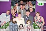 Noreen O'Byrne-Bartlett Marian Terrace Killarney standing front row centre celebrates his 60th birthday in Corkery's bar Killarney Saturday night
