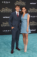 "HOLLYWOOD, CA - May 18: Brenton Thwaites, Chloe Pacey, At Premiere Of Disney's ""Pirates Of The Caribbean: Dead Men Tell No Tales"" At Dolby Theatre In California on May 18, 2017. Credit: FS/MediaPunch"