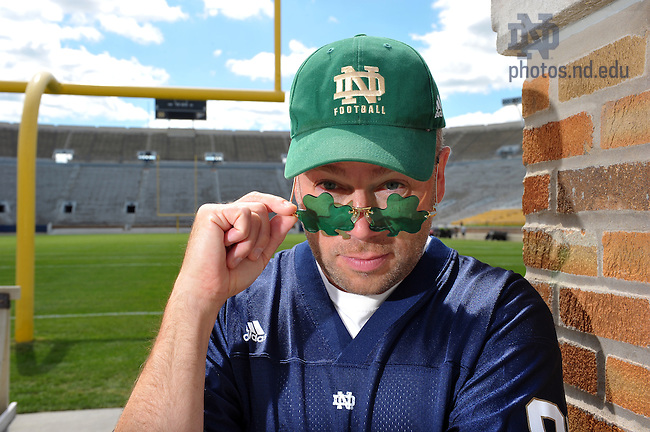 Ted Mandell for Notre Dame Magazine..Photo by Matt Cashore/University of Notre Dame