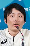 Daichi Oguri (JPN), MARCH 11, 2018 - Snow board : Japanese Snow board team Press Conference at Paralympic Village during the PyeongChang 2018 Paralympics Winter Games in Pyeongchang, South Korea. (Photo by Sho Tamura/AFLO SPORT)