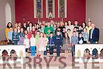 Golden Jubilee: Canon Eoin mangan, Knocknagoshel celebrating his Golden jubilee with Bishop Ray Browne & parishioners in Knocknagoshel Church on Sunday last.