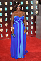 Viola Davis<br /> at the 2017 BAFTA Film Awards held at The Royal Albert Hall, London.<br /> <br /> <br /> ©Ash Knotek  D3225  12/02/2017