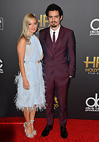 LOS ANGELES, CA. November 04, 2018: Damien Chazelle & Olivia Hamilton  at the 22nd Annual Hollywood Film Awards at the Beverly Hilton Hotel.<br /> Picture: Paul Smith/Featureflash