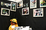 May 15, 2010 - Tokyo, Japan - An artist wearing a 'Winnie the Pooh' uniform is pictured at Design Festa at Tokyo Big Sight in Tokyo, Japan, on May 15 2010. The biannually International Art Event that began in 1994 runs from May 15-16, and gives to nearly 8,500 artists working in a variety of mediums an opportunity to showcase their work.