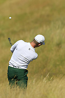 Brandon Stone (RSA) plays his 2nd shot from the rough on the 2nd hole during Friday's Round 2 of the 2018 Dubai Duty Free Irish Open, held at Ballyliffin Golf Club, Ireland. 6th July 2018.<br /> Picture: Eoin Clarke | Golffile<br /> <br /> <br /> All photos usage must carry mandatory copyright credit (&copy; Golffile | Eoin Clarke)