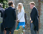 """PRINCE HARRY.attendS the wedding of his cousin Emily McCorquodale to James Hutt at  the Church of St Andrew & St Mary, Stoke Rochford, Lincolnshire.Emily is the daughter of Princess Diana' sister Sarah McCorquodale_09/06/2012.Mandatory Credit Photo: ©NEWSPIX INTERNATIONAL..**ALL FEES PAYABLE TO: """"NEWSPIX INTERNATIONAL""""**..IMMEDIATE CONFIRMATION OF USAGE REQUIRED:.Newspix International, 31 Chinnery Hill, Bishop's Stortford, ENGLAND CM23 3PS.Tel:+441279 324672  ; Fax: +441279656877.Mobile:  07775681153.e-mail: info@newspixinternational.co.uk"""