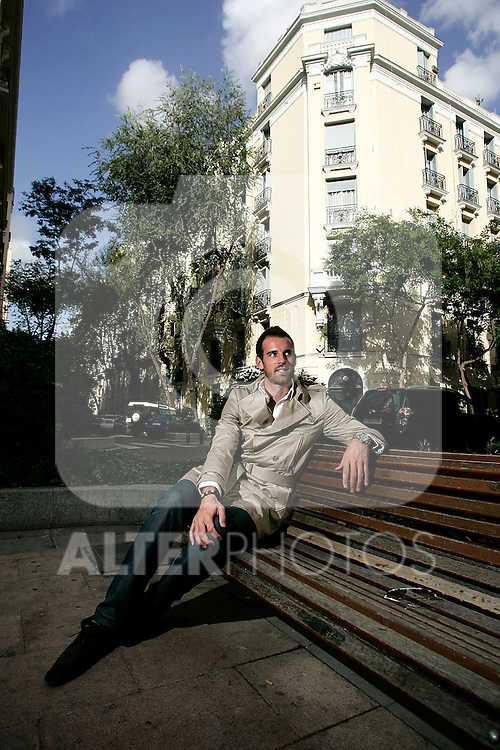 Real Madrid's Christophe Metzelder during interview and portrait session, October 13, 2008. (ALTERPHOTOS/Alvaro Hernandez)