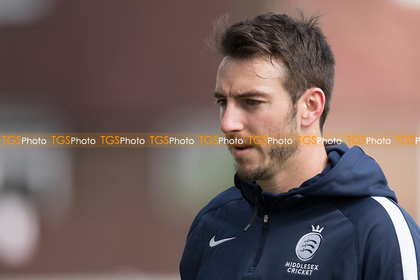 Toby Roland-Jones of Middlesex CCC during Middlesex CCC vs Lancashire CCC, Specsavers County Championship Division 2 Cricket at Lord's Cricket Ground on 13th April 2019