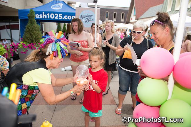 Westport Vintage Bliss Market at Westport Plaza in St. Louis, MO on June 21, 2014.