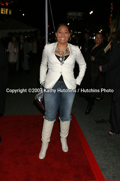 "Raven Symone.""Wild Hogs"" Premiere - Los Angeles.El Capitan Theater.Hollywood, CA.February 27, 2007.©2007 Kathy Hutchins / Hutchins Photo...."