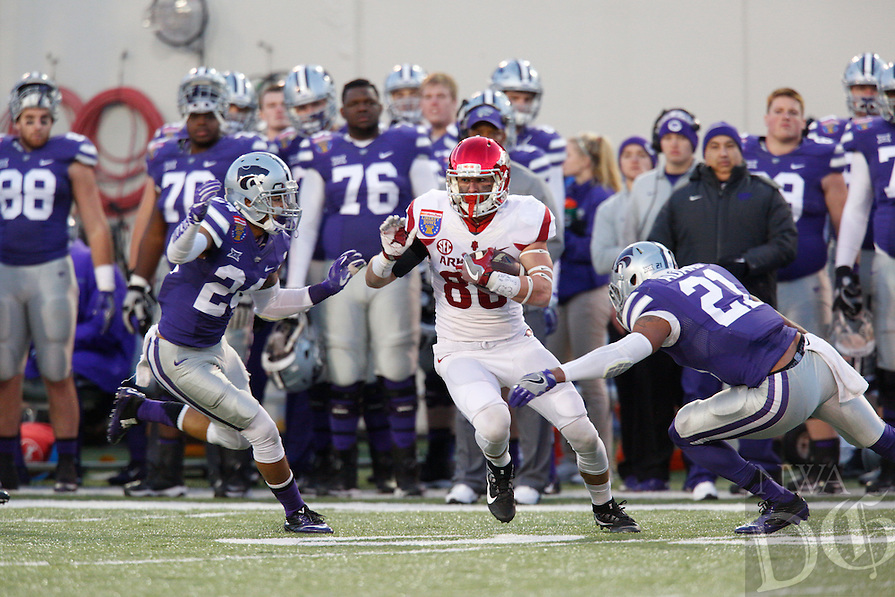 HAWGS ILLUSTRATED JASON IVESTER --01/02/2016--<br /> Arkansas vs Kansas St, Liberty Bowl