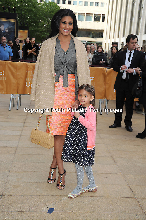 Rachel Roy and Tullulah attends the American Ballet Theatre's Spring Gala on May 13, 2013 at The Metropolitan Opera House in New York City.