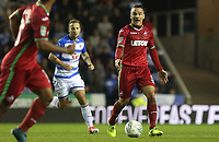 Roque Mesa of Swansea City during the Carabao Cup Third Round match between Reading and Swansea City at Madejski Stadium, Reading, England, UK. Tuesday 19 September 2017