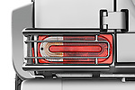 Tail light close up detail view of a 2008 Mercedes Benz G55 AMG