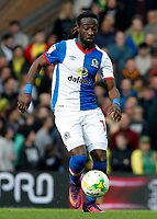 Blackburn Rovers' Marvin Emnes in action<br /> <br /> Photographer David Shipman/CameraSport<br /> <br /> The EFL Sky Bet Championship - Norwich City v Blackburn Rovers - Saturday 11th March 2017 - Carrow Road - Norwich<br /> <br /> World Copyright &copy; 2017 CameraSport. All rights reserved. 43 Linden Ave. Countesthorpe. Leicester. England. LE8 5PG - Tel: +44 (0) 116 277 4147 - admin@camerasport.com - www.camerasport.com