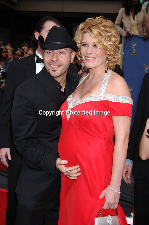 McKenzie Westmore and husband  Seven ..arriving at the 33rd Annual Daytime Emmy Awards ..on April 28, 2006 at The Kodak Theatre in Hollywood, ..Californina. ..Robin Platzer, Twin Images