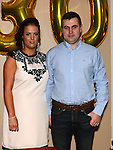 Claire Carberry celebrating her 30th birthday in Brú with boyfriend Paul Floody. Photo:Colin Bell/pressphotos.ie