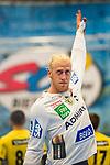 Mikael APPELGREN (#1 Rhein-Neckar Loewen) \ beim Spiel in der Handball Bundesliga, SG BBM Bietigheim - Rhein Neckar Loewen.<br /> <br /> Foto &copy; PIX-Sportfotos *** Foto ist honorarpflichtig! *** Auf Anfrage in hoeherer Qualitaet/Aufloesung. Belegexemplar erbeten. Veroeffentlichung ausschliesslich fuer journalistisch-publizistische Zwecke. For editorial use only.