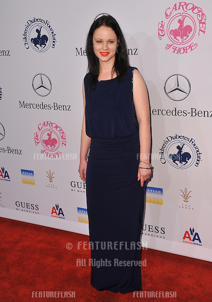 Thora Birch at the 26th Carousel of Hope Gala at the Beverly Hilton Hotel..October 20, 2012  Beverly Hills, CA.Picture: Paul Smith / Featureflash