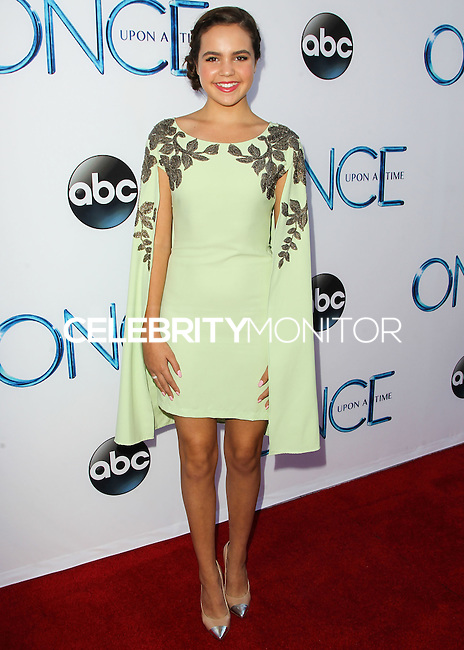 HOLLYWOOD, LOS ANGELES, CA, USA - SEPTEMBER 21: Bailee Madison arrives at the Los Angeles Screening Of ABC's 'Once Upon A Time' Season 4 held at the El Capitan Theatre on September 21, 2014 in Hollywood, Los Angeles, California, United States. (Photo by Celebrity Monitor)