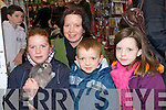 RABBITS: Martina O'Sullivan got to hold one of the rare rabbits in Petmania Store, Manor Retail Park, Tralee on Sunday looking on were martins family they were, Rachel, Jason and Martina O'Sullivan (snr)........   Copyright Kerry's Eye 2008
