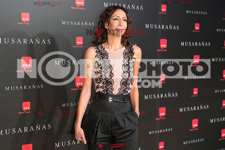 "Elisa Matilla attend the Premiere of the movie ""Musaranas"" in Madrid, Spain. December 17, 2014. (ALTERPHOTOS/Carlos Dafonte) /NortePhoto /NortePhoto.com"