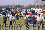 The crowds enjoying the fine weather at the Killarney Easter Vintage Rally on Sunday..