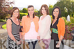 BIG BUS BBQ: Enjoying the fun at the Kerry Cancer Support Group Big Bus BBQ at the Ballygarry House Hotel and Spa on Friday l-r: Maryanne Piggott, Geraldine O'Shea, Noreen Clifford and Karen Murphy.