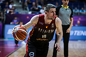 5th September 2017, Fenerbahce Arena, Istanbul, Turkey; FIBA Eurobasket Group D; Turkey versus Belgium; Point Guard Quentin Serron #10 of Belgium drives to the basket during the match