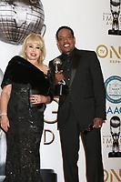 LOS ANGELES - JAN 15:  Mahin Wilson, Charlie WIlson at the 49th NAACP Image Awards - Press Room at Pasadena Civic Center on January 15, 2018 in Pasadena, CA