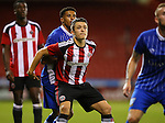 Tom Charlesworth of Sheffield Utd during the U23 Professional Development League match at Bramall Lane Stadium, Sheffield. Picture date: September 6th, 2016. Pic Simon Bellis/Sportimage