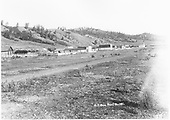 View of settlement - location uncertain, but probably near La Veta.<br /> D&amp;RG  Russell ?, CO  Taken by Davis, O. T.