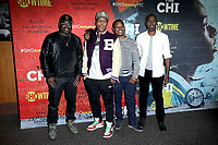 "LOS ANGELES - FEB 2:  Lil Rel Howery, Lena Waithe, Jason Mitchell, Ntare Guma Mbaho Mwine at the For Your Consideration Event For ""The Chi"" at the DGA Theater  on February 2, 2018 in Los Angeles, CA"