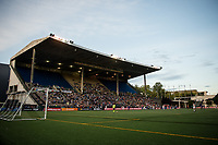 Seattle, WA - Sunday, September 24th, 2017: Seattle Reign FC fans during a regular season National Women's Soccer League (NWSL) match between the Seattle Reign FC and FC Kansas City at Memorial Stadium.