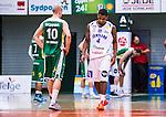 S&ouml;dert&auml;lje 2014-03-25 Basket SM-kvartsfinal 1 S&ouml;dert&auml;lje Kings - J&auml;mtland Basket :  <br /> J&auml;mtlands Adama Darboe deppar<br /> (Foto: Kenta J&ouml;nsson) Nyckelord:  S&ouml;dert&auml;lje Kings SBBK J&auml;mtland Basket SM Kvartsfinal Kvart T&auml;ljehallen depp besviken besvikelse sorg ledsen deppig nedst&auml;md uppgiven sad disappointment disappointed dejected