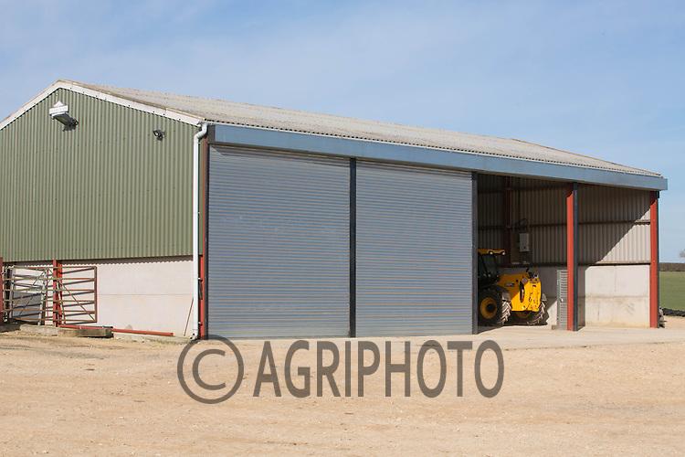 A modern farm building <br /> Picture Tim Scrivener 07850 303986