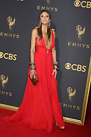 LOS ANGELES - SEP 17:  Heidi Klum at the 69th Primetime Emmy Awards - Arrivals at the Microsoft Theater on September 17, 2017 in Los Angeles, CA