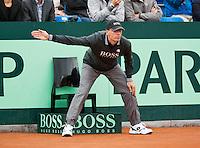 14-09-12, Netherlands, Amsterdam, Tennis, Daviscup Netherlands-Swiss,  Umpire