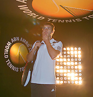 13-02-14, Netherlands,Rotterdam,Ahoy, ABNAMROWTT, Ernests Gulbis(LET) <br /> Photo:Tennisimages/Henk Koster