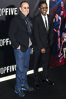 NEW YORK CITY, NY, USA - DECEMBER 03: Jerry Seinfeld, Chris Rock arrive at the New York Premiere Of 'Top Five' held at the Ziegfeld Theatre on December 3, 2014 in New York City, New York, United States. (Photo by Celebrity Monitor)