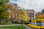 The county courthouse in Woodstock, Vermont, USA